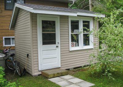 Aubrey House-utility shed