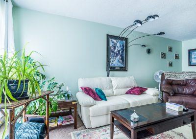 Blake Street Apartment-living room