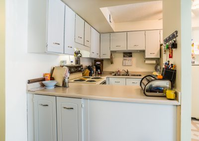 Blake Street Apartment-contemporary kitchen